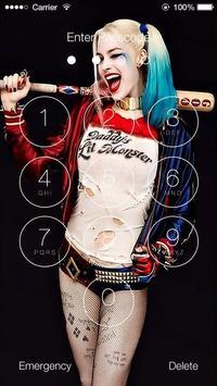 Harley Quinn HD Wallpaper Lock Screen Poster