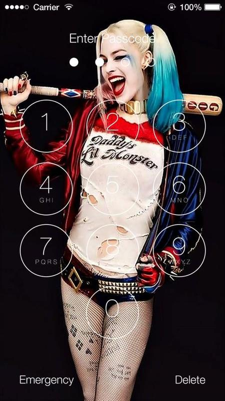 Harley Quinn Hd Wallpaper Lock Screen For Android Apk Download
