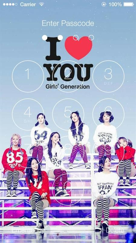 Snsd Girls Generation Hd Wallpaper Lock Screen For Android Apk