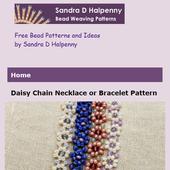 Beaded Daisy Net Bracelet icon