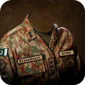Pak Army Suit-Uniform Editor icon