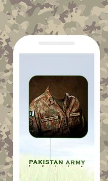 Pak Army Suit-Uniform Editor poster