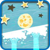 Roll the Moon: Tap Physics icon