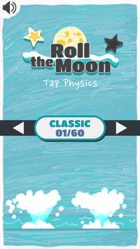 Roll the Moon: Tap Physics screenshot 3