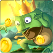 Tap frog : jumping froggy frog world icon