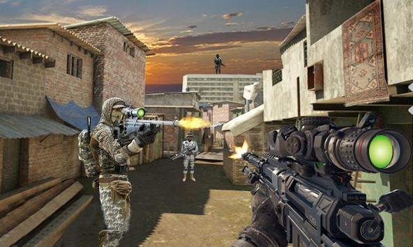 Bravo Sniper Shooter Game Free poster