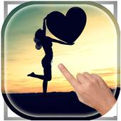 Magic Ripple - Love Birds LWP icon