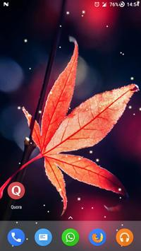 Magic Touch - Maple Leaves Live Wallpaper apk screenshot