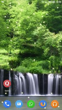 Magic Touch - Rain Forest Live Wallpaper apk screenshot