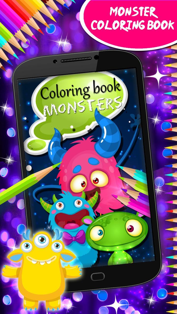 Android Icin Canavarlar Boyama Kitabi Apk Yi Indir
