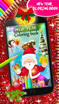 New Year Coloring Book poster