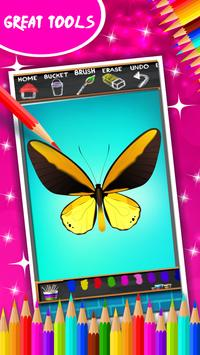 Butterfly Coloring Book screenshot 12