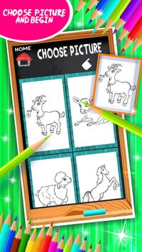 Farm Animals Coloring Book screenshot 10