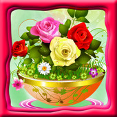 Flowers Coloring Book icon