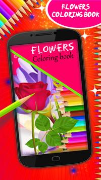 Flowers Coloring Book poster