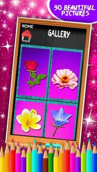 Flowers Coloring Book screenshot 7