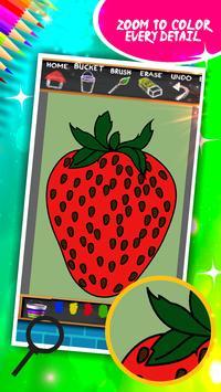 Fruits Coloring Book screenshot 3