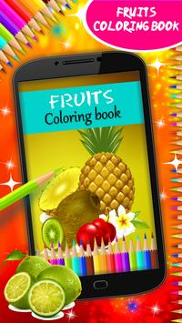 Fruits Coloring Book poster