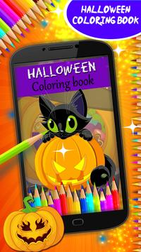 Halloween Coloring Book poster