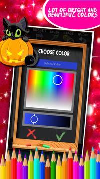 Halloween Coloring Book screenshot 5