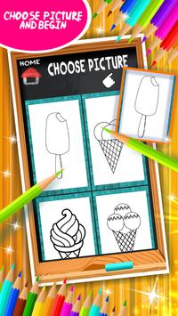 Ice Cream Coloring Book screenshot 10