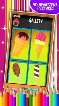 Ice Cream Coloring Book screenshot 15