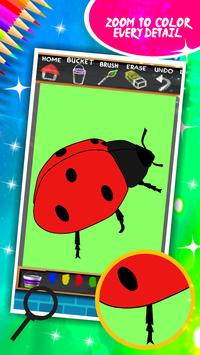 Insects Coloring Book screenshot 11