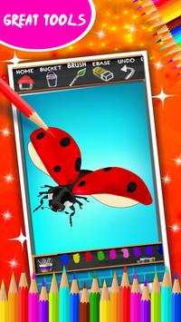 Insects Coloring Book screenshot 12