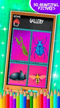 Insects Coloring Book screenshot 7