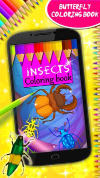 Insects Coloring Book screenshot 8