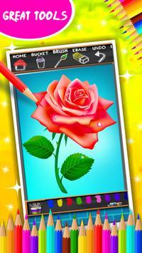 Roses Coloring Book screenshot 4