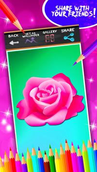 Roses Coloring Book screenshot 6