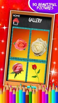 Roses Coloring Book screenshot 15