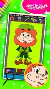 St. Patricks Day Coloring screenshot 11