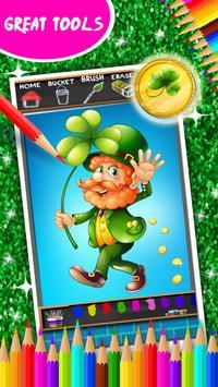 St. Patricks Day Coloring screenshot 12