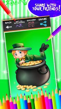 St. Patricks Day Coloring screenshot 6