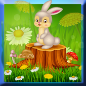 Sweet Bunny Coloring Book icon