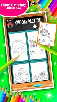 Sweet Treats Coloring Book screenshot 10