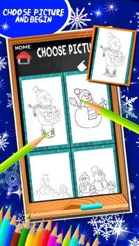 Snowman Coloring Book screenshot 10