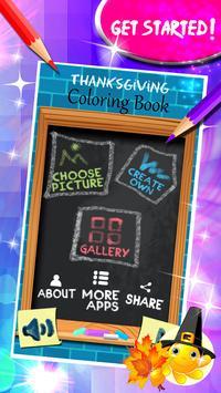 Thanksgiving Coloring Book screenshot 1