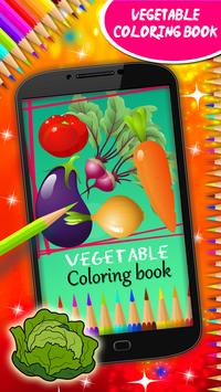 Vegetable Coloring Book poster