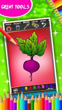 Vegetable Coloring Book screenshot 12