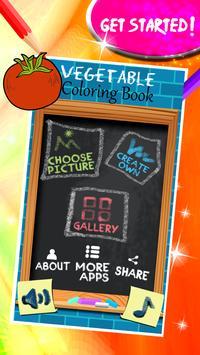 Vegetable Coloring Book screenshot 1