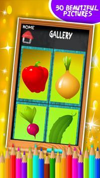 Vegetable Coloring Book screenshot 7