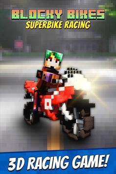 Blocky Bikes: Superbike Racing poster