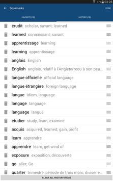French English Dictionary & Translator Free screenshot 8