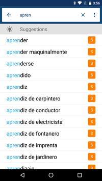 Spanish English Dictionary & Translator Free screenshot 3