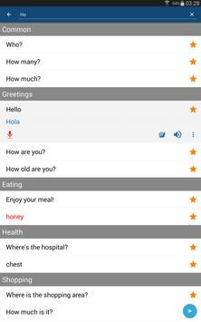 Learn Spanish Phrases   Spanish Translator screenshot 7