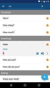 Learn Spanish Phrases   Spanish Translator screenshot 3