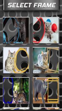 Cute Cat Photo Frames screenshot 9